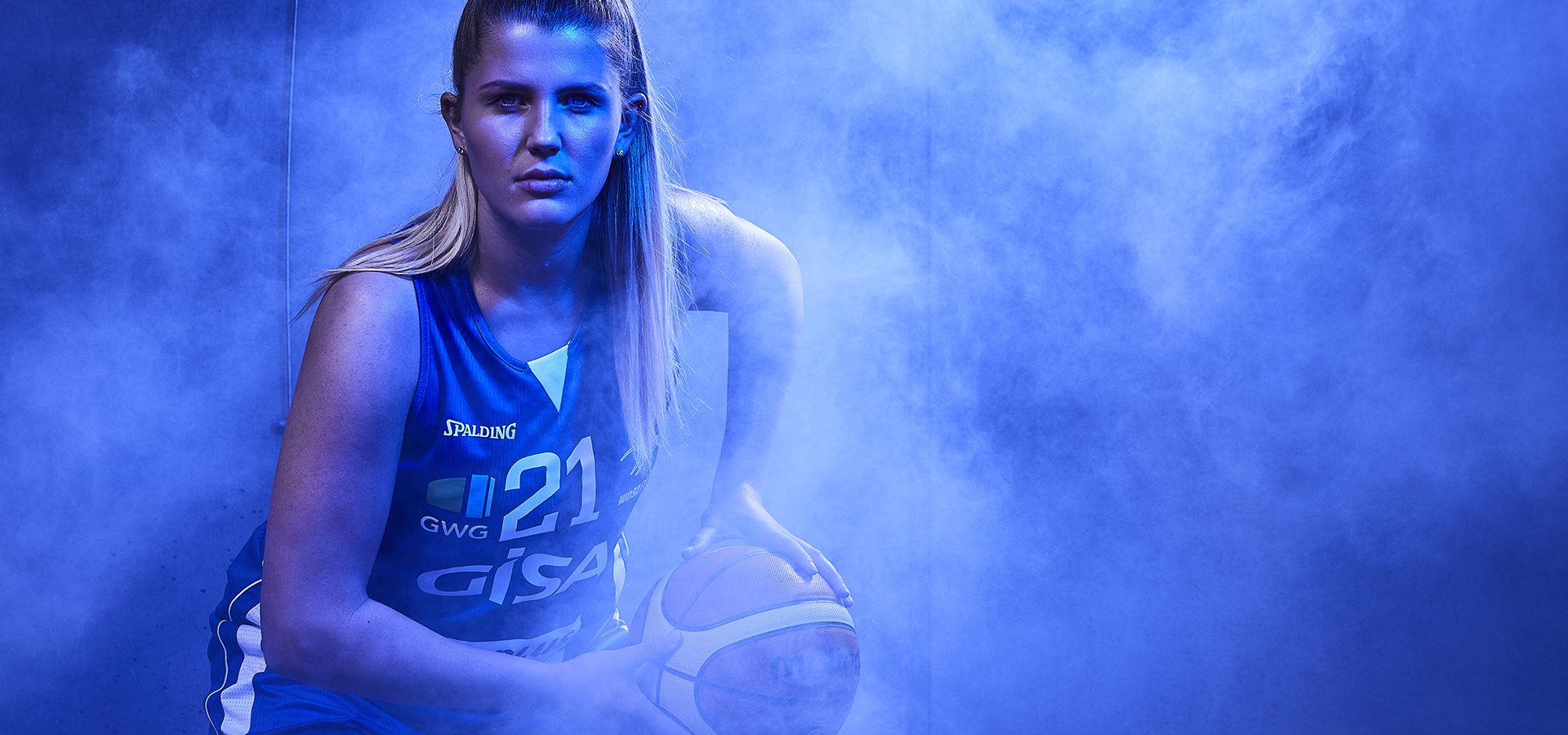 Spielerportraits Mannschaft 2. Basketball Bundesliga Damen Warmuth Fotografie